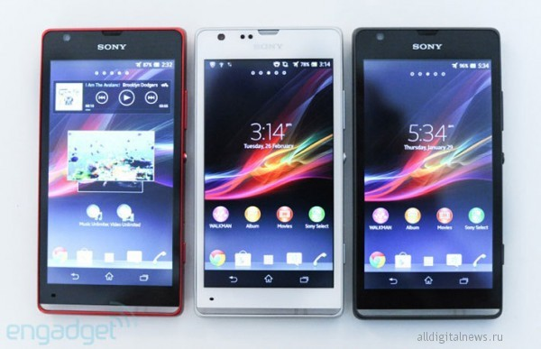 Sony Xperia SP и Xperia L_4